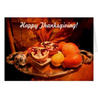 幸せな感謝祭! カード