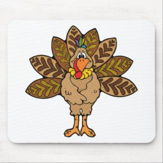 幸せな感謝祭、ブラウントルコ マウスパッド
