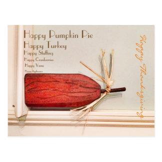幸せな感謝祭! ポストカード