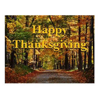 幸せな感謝祭: ラルフ・ワルド・エマーソンの詩 ポストカード