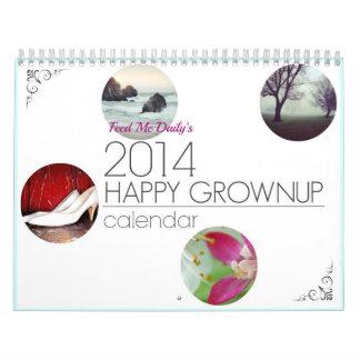 幸せな成人2014のカレンダー カレンダー