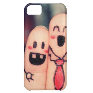 幸せな指 iPhone5Cケース