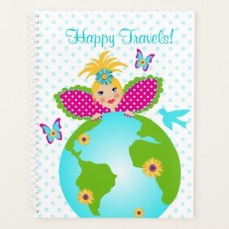 幸せな旅行世界の守り神のプランナー プランナー手帳