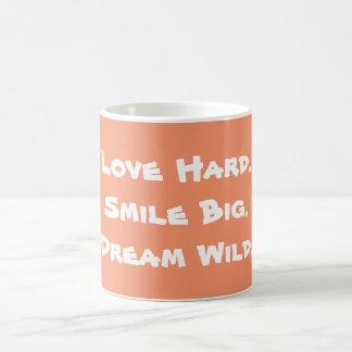 幸せな日のインスピレーションのマグ コーヒーマグカップ