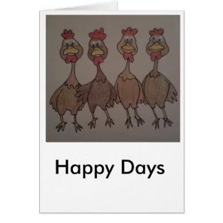 幸せな日 カード