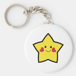 幸せな星 キーホルダー