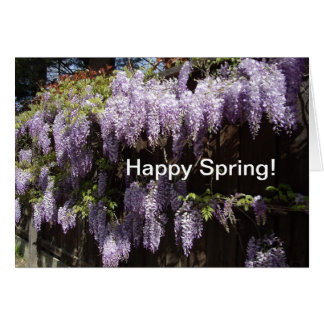 幸せな春! カード