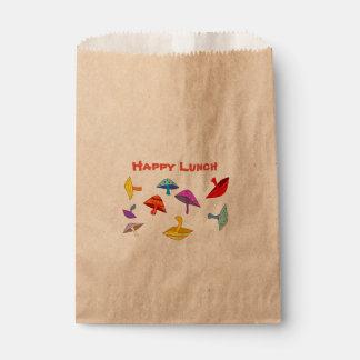 幸せな昼食のきのこ フェイバーバッグ