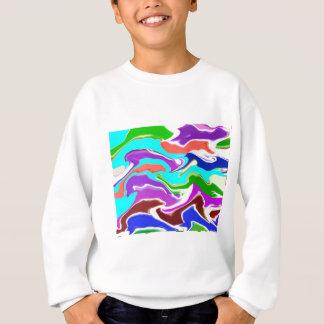 幸せな時の波-楽しむなnの共有の喜び スウェットシャツ