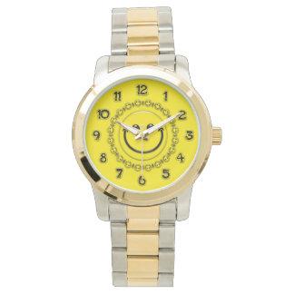 幸せな時間のスマイリー 腕時計