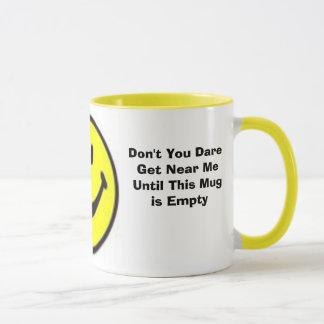 幸せな朝のマグ(まばたきのまばたき) マグカップ