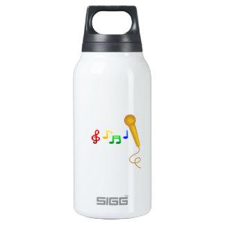幸せな歌う音楽カラオケ 断熱ウォーターボトル