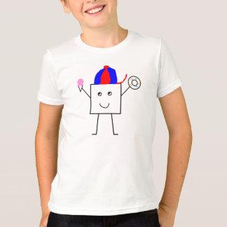 幸せな正方形 Tシャツ
