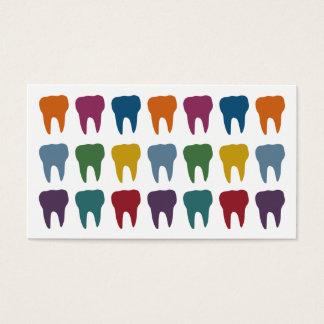 幸せな歯の歯科医の名刺 名刺