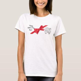 幸せな母の日のお母さん! カスタマイズ可能なTシャツのギフト Tシャツ