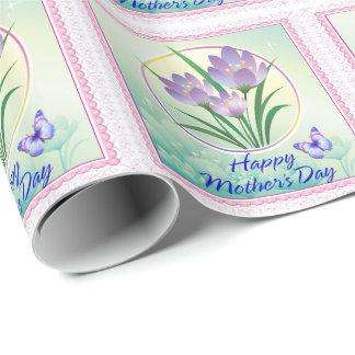 幸せな母の日2の包装紙 ラッピングペーパー