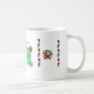 幸せな母の日 コーヒーマグカップ