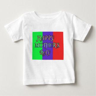 幸せな母の日 ベビーTシャツ