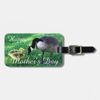 幸せな母の日-マザー・グース ラゲッジタグ