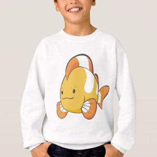 幸せな漫画Clownfish スウェットシャツ