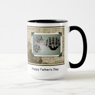 幸せな父の日のマグ マグカップ