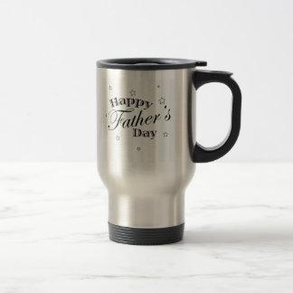 幸せな父の日メッセージ ステンレス製トラベルマグカップ