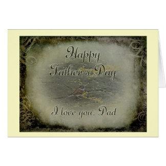 幸せな父の日-すずめ カード