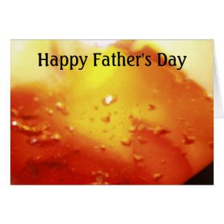 幸せな父の日(だれでものために) カード