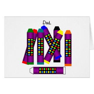 幸せな父の日! (忍耐) カード