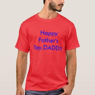 幸せな父の日 Tシャツ