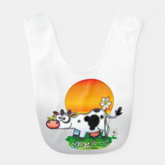 幸せな牛 ベビービブ