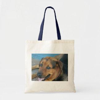 幸せな犬 トートバッグ