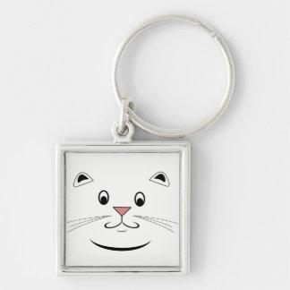 幸せな猫のギフト キーホルダー