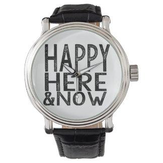 幸せな現時点の腕時計 腕時計