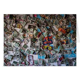 幸せな現金 カード
