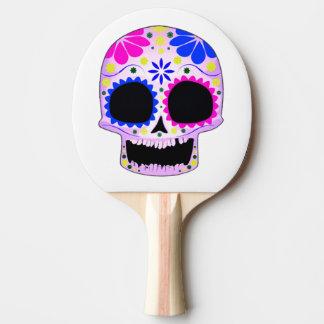 幸せな砂糖のスカルのデザイン 卓球ラケット