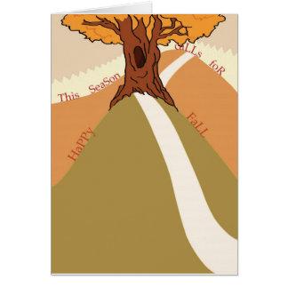 幸せな秋2011年 カード