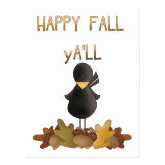 幸せな秋 ポストカード
