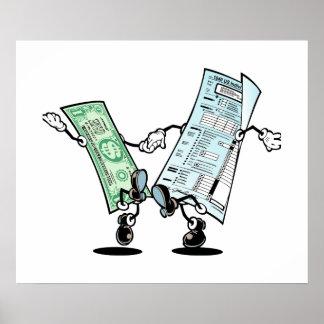 幸せな税日 ポスター
