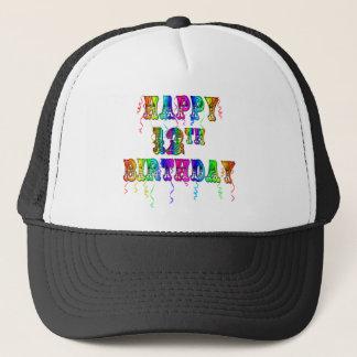 幸せな第12誕生日プレゼントおよび誕生日の服装 キャップ