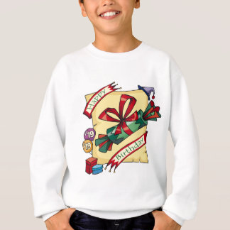 幸せな第19誕生日プレゼント スウェットシャツ
