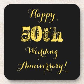 幸せな第50結婚記念日 コースター