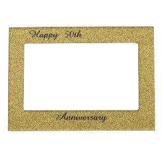 幸せな第50記念日 マグネットフレーム