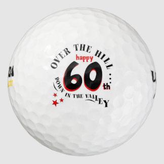 幸せな第60誕生日 ゴルフボール