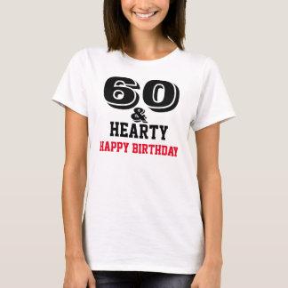 幸せな第60誕生日 Tシャツ