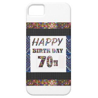 幸せな第70誕生日 iPhone SE/5/5s ケース