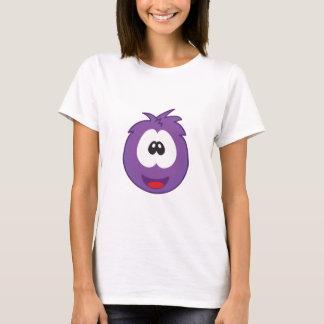 幸せな紫色のSneezie Tシャツ