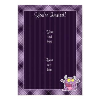 幸せな紫色モンスター; 紫色 カード