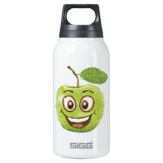 幸せな緑のりんご 断熱ウォーターボトル