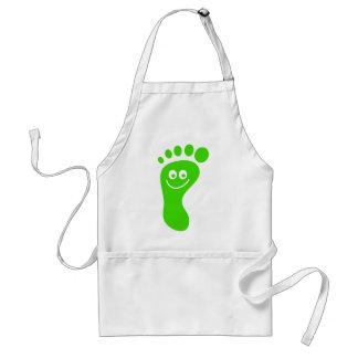 幸せな緑の足 スタンダードエプロン